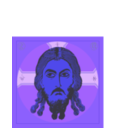 download Savior Icon clipart image with 225 hue color