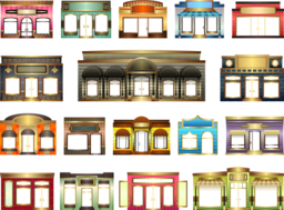 Store Fronts Clipart I2clipart Royalty Free Public
