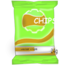 download Chips clipart image with 45 hue color