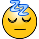 Emoticons Sleeping Face