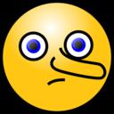 Emoticons Lying Face