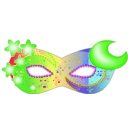 download Mask clipart image with 45 hue color