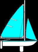 Sailing Parts Of Boat Illustration