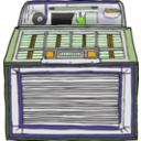 download Jukebox clipart image with 45 hue color