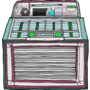 download Jukebox clipart image with 135 hue color