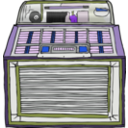 download Jukebox clipart image with 225 hue color