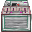 download Jukebox clipart image with 315 hue color