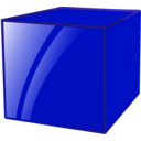 download Cube clipart image with 135 hue color