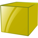 download Cube clipart image with 315 hue color