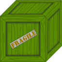 download Wooden Crate clipart image with 45 hue color