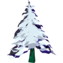 download Winter Tree 2 clipart image with 135 hue color