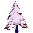 download Winter Tree 2 clipart image with 225 hue color