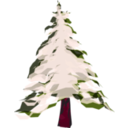 download Winter Tree 2 clipart image with 315 hue color