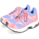 download Sneakers clipart image with 45 hue color