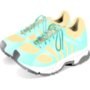 download Sneakers clipart image with 225 hue color