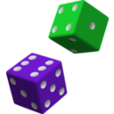 Smilies Test - Page 4 Clipart-green-and-purple-dice-8621