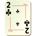 Ornamental Deck 2 Of Clubs