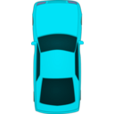 download Top View Xar clipart image with 135 hue color
