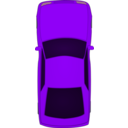 download Top View Xar clipart image with 225 hue color