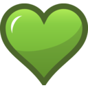 Green Heart Icon
