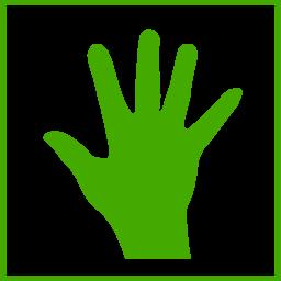 Eco Green Hand Icon Clipart I2clipart Royalty Free Public Domain Clipart
