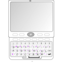 download Qwerty Slider Phone clipart image with 45 hue color