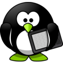 download Modern Penguin clipart image with 45 hue color