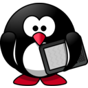 download Modern Penguin clipart image with 315 hue color