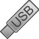 download Usb Flash Drive Icon clipart image with 135 hue color