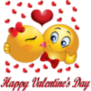 Happy Valentine Smiley Emoticon