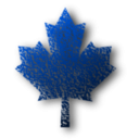download Maple Leaf 6 clipart image with 225 hue color
