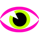 download Eye Sign clipart image with 315 hue color
