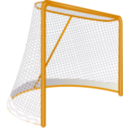 download Hockey Goal clipart image with 45 hue color