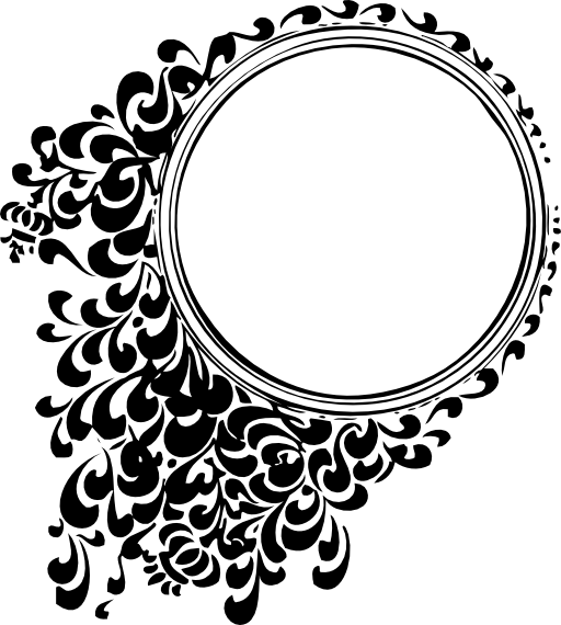 فيكتور زخارف دائرية Png
