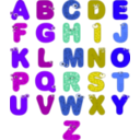 download Animal Alphabets clipart image with 225 hue color