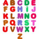 download Animal Alphabets clipart image with 315 hue color