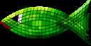 Tiled Green Fish