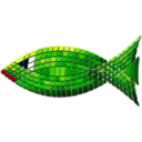 Tiled Green Fish