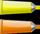 Color Tube Yelloworange