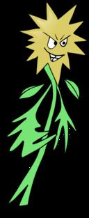 Anthropomorphic Flower
