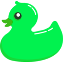 download Rubber Duck clipart image with 90 hue color