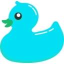 download Rubber Duck clipart image with 135 hue color