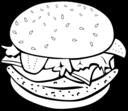 Fast Food Lunch Dinner Chicken Burger