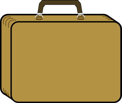 little tan suitcase clipart i2clipart royalty free suitcase clipart free suitcase clipart open