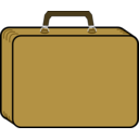 Little Tan Suitcase