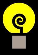 Traditional Lightbulb On
