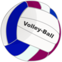 download Volleyball clipart image with 225 hue color