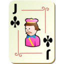 Ornamental Deck Jack Of Clubs