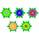 download Flowers clipart image with 45 hue color