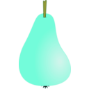 download Pear1 clipart image with 45 hue color